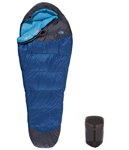 The North Face Blue Kazoo, Saco de dormir, Blue/Grey, Normal, cierre derecho
