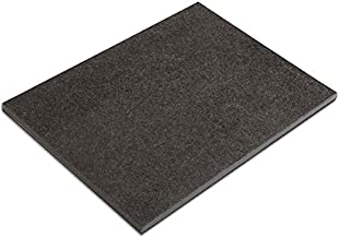 Soulscrafts Natural Black Marble Pastry Cheese and Cutting Board Slab 16x12x0.5 Inch