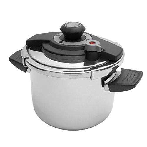 BergHOFF Vita 18/10 Stainless Steel Pressure Cooker 6.3 Qt