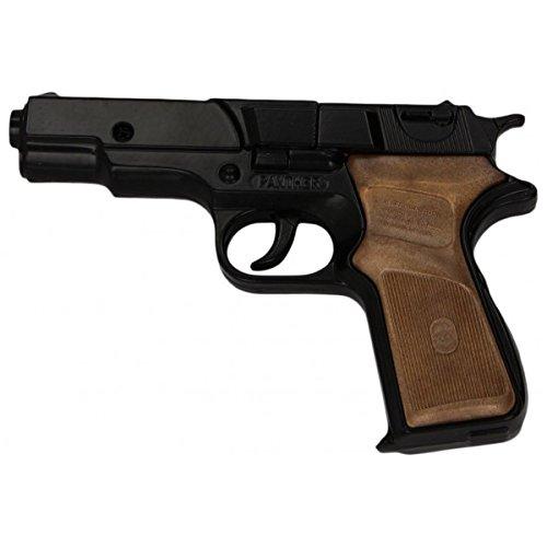Pistola in metallo Caricatore da 8 colpi Lunghezza: 17 cm