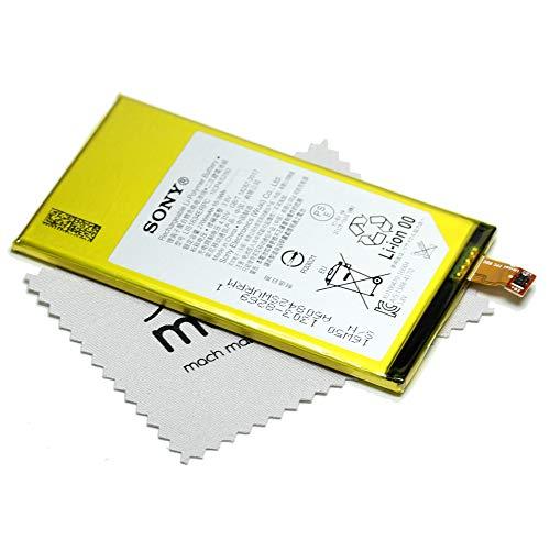 Akku für Sony Original LIS1634ERPC 1303-8269 für Sony Xperia X Compact mit mungoo Displayputztuch