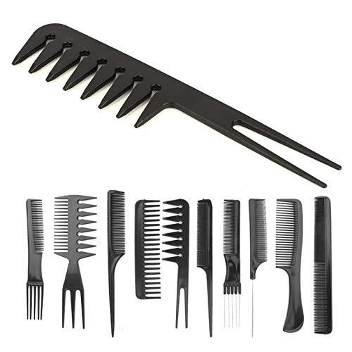 Professionelle Haarstyling-Kämme Haarpflege-Styling-Werkzeuge Korrosionsschutz Salon Barber Kämme für Frauen für Salon Friseure für verschiedene Funktionen