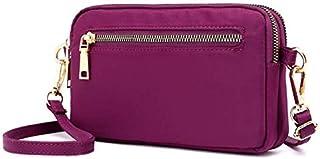 Jlyifan Women Travel Small Crossbody Phone Bag Wrist Purse Pouch for Samsung Galaxy S20 / S20+ / S20 Ultra/LG V60 ThinQ/LG Neon Puls/Motorola Moto G8 Plus / G7 Plus (Purple)