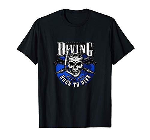 lub de buceo - Born to Dive, Diver Camiseta