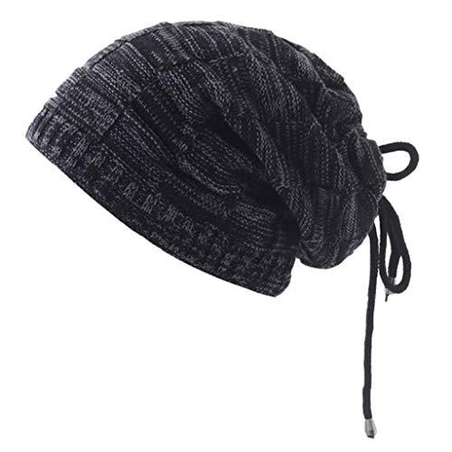 Nyuiuo Unisex Winter Windshield Hüte Strickmützen Schal Hut kann als Schal und Mütze verwendet Werden