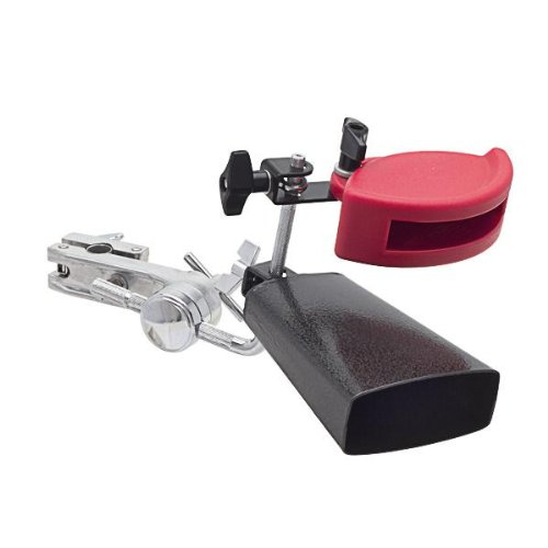 S-Drums Percussion Cowbell Jam Block Mount Set