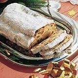Marzipan-Stollen (1,5 kg) Gebacken mit Rosinen, Orangeat, Zitronat, Haselnüssen und anderen hochwertigen Zutaten, die einen guten Stollen ausmachen. 3x 500g. €8,63/kg