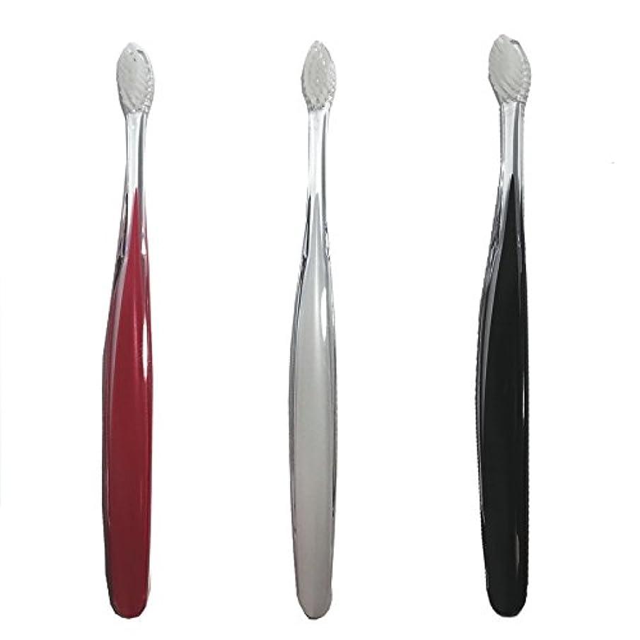 経験共和党受けるサムライ(SAMRAI)歯ブラシ ふつう 3色セット