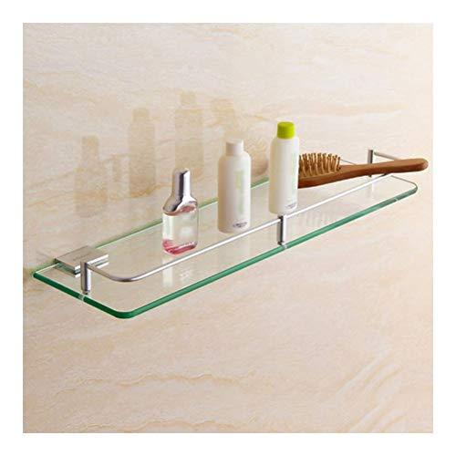 ZhanMaGS Estante de baño de acero inoxidable para toallas de baño, toallero, acabado cepillado, estante de almacenamiento de pared 1026 (tamaño: 25 cm)