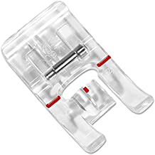ZIGZAGSTORM 4130971-45 Clear Piping Presser Foot for Husqvarna Viking Group 1,2,3,4,5,6,7,8,D Sewing Machine - #4130971-45