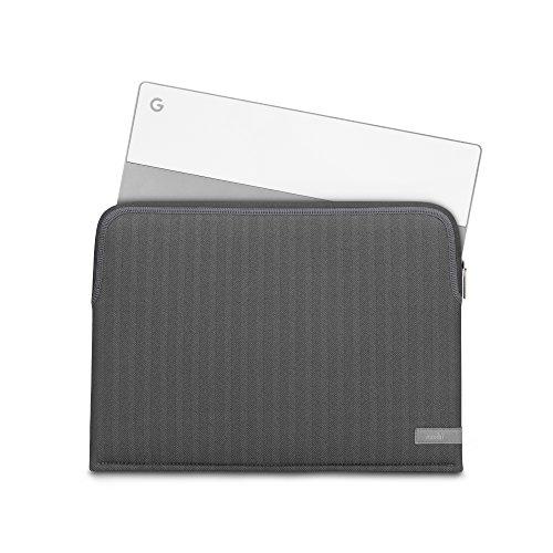 Moshi 99MO104051 Pluma Laptoptasche, 33,02-33,78 cm (13-13,3 Zoll) Herringbone Grau