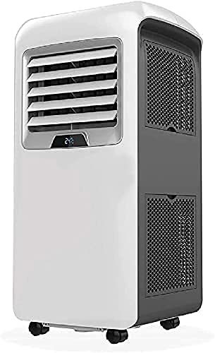 aire acondicionado apartamento, Enfriador de evaporación enfriamiento y calefacción Aire acondicionado portátil - 12000 BTU Aire acondicionado con control remoto: calefacción móvil y ventilador de rad