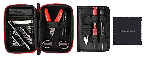 Coil Master DIY KIT Mini 100% Authentic Tool Set with Latest Coil Jig (V4) / Tweezers/Newest Tool Kit, Compact Travel Kit for Outdoor Use, Jewelry and Home Repairs/Exclusive LifeMods Bundle Edition