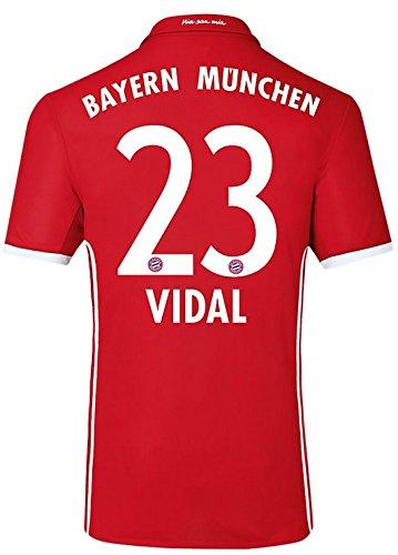 Trikot Adidas FC Bayern München 2016-2017 Home (Vidal 23, 176)