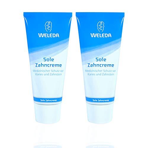 2x Weleda Sole Zahncreme 75 ml