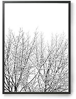 Coco Lapine ポスター/アートプリント 50×70cm Snowy Tree