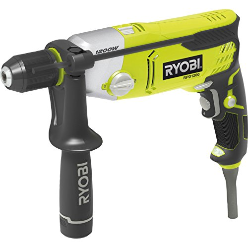 Ryobi RPD1200-K Two Speed Percussion Drill with LED, 1200 W