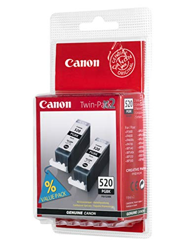 Canon Original PGI-520BK Twin Pack Black