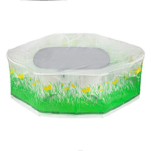 Heim & Büro Abdeckhülle für Gartenmöbel | Schutzhülle für Gartenmöbel (Abdeckhülle 230 x 170 x 90 cm)