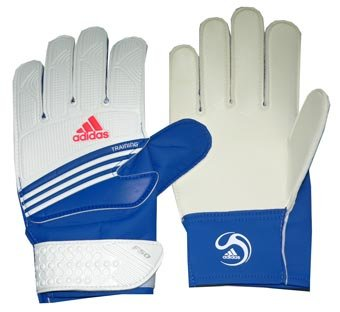 Adidas Keepershandschoen F50 Training blauw-wit 616065 Gr. 11.