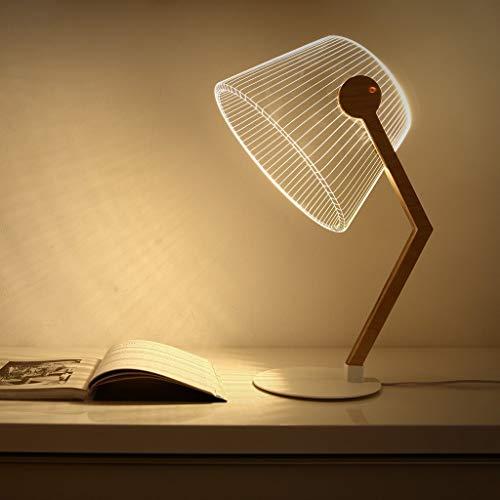 LLYU LED 3D creatief nachtlampje van acryl tafellamp decoratieve lamp tafellamp