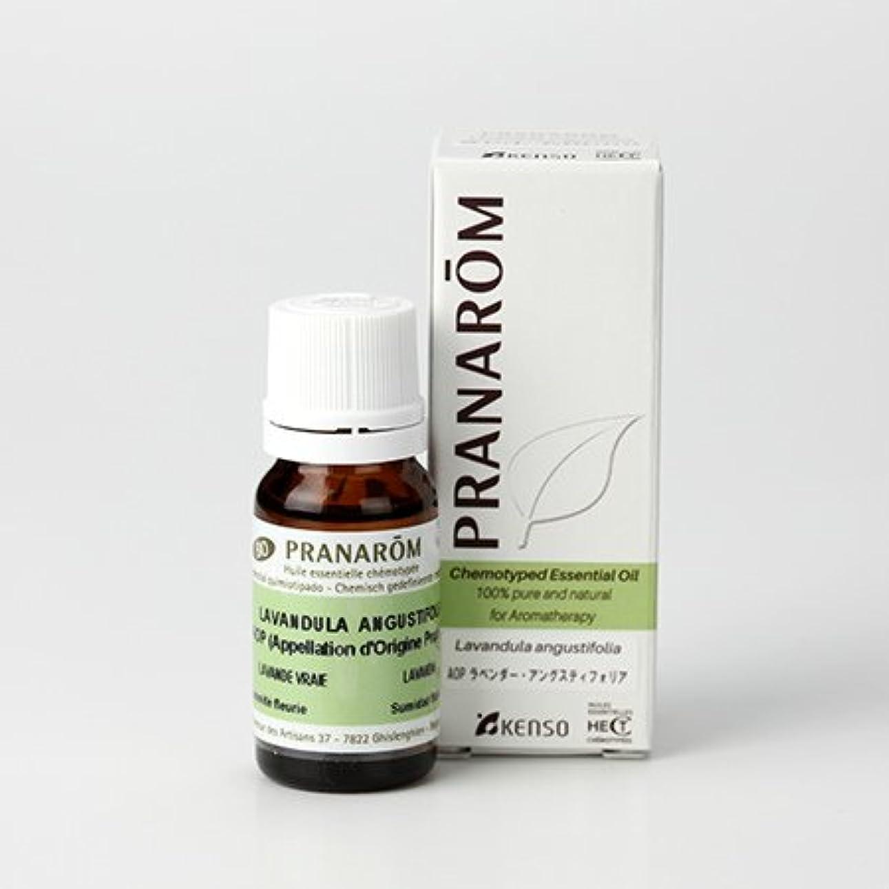 熱意無駄調べるプラナロム AOP ラベンダーアングスティオフォリア 10ml (PRANAROM ケモタイプ精油)