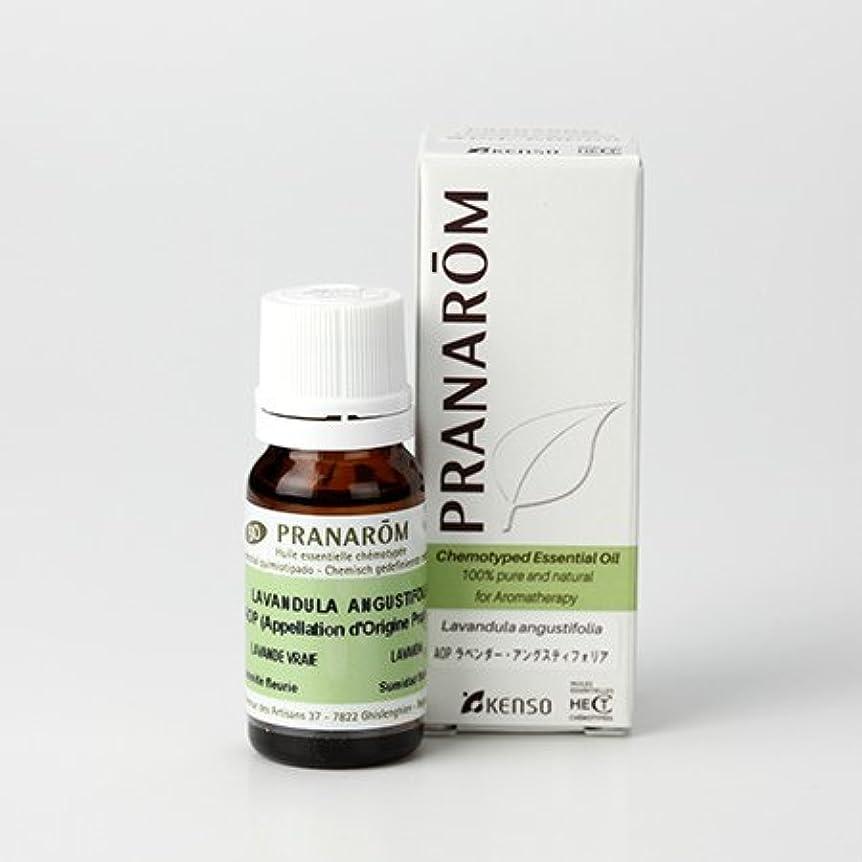 ワックスステーキ衣装プラナロム AOP ラベンダーアングスティオフォリア 10ml (PRANAROM ケモタイプ精油)