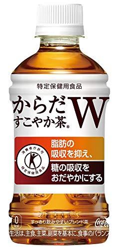 [トクホ] コカ・コーラ からだすこやか茶W お茶 ペットボトル 350ml×24本