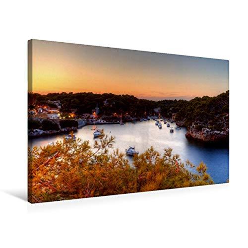 Premium Textil-Leinwand 75 x 50 cm Quer-Format Mallorca - Calla Figuera | Wandbild, HD-Bild auf Keilrahmen, Fertigbild auf hochwertigem Vlies, Leinwanddruck von Thorsten Jung (TJPhotography)