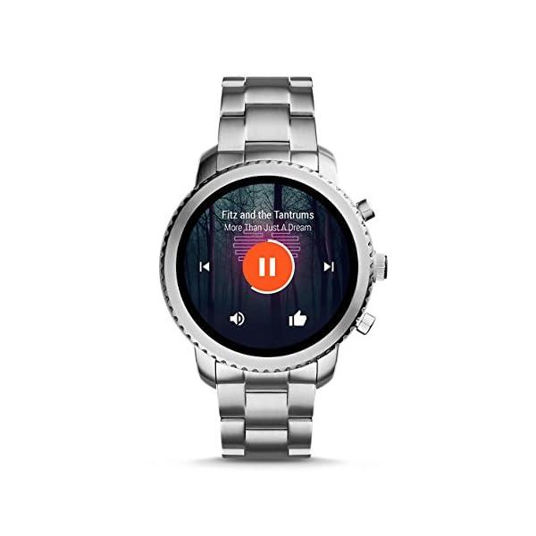 Reloj inteligente para hombre Fossil Q Explorist 3ª generación – Acero inoxidable – Impresionante reloj inteligente con… 7