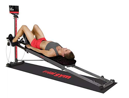 Total Gym XL7 Force Home Gym with Workout DVDs Folds