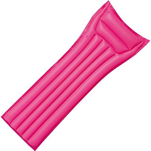 Bestway 44007pi - Luftmatratze, pink, 183 x 69 cm