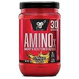 BSN Nutrition Amino X, Suplementos Deportivos BCAA Polvo con Aminoacidos Esenciales y Vitamina D, Aminoacidos BCAA para Musculacion, Cola, 30 Porciones, 435g