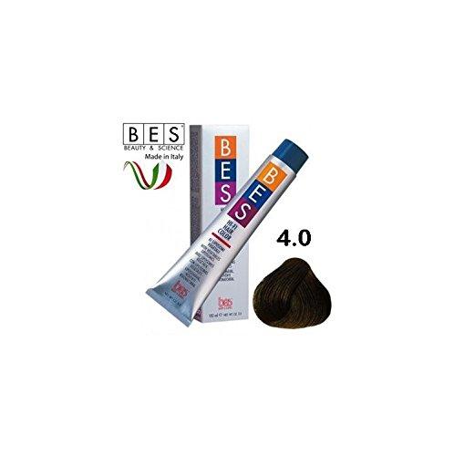 BES HI FI COLOR WITH VEGETABLES LIPOSOMES 3.5 OZ 100 ML / 4.0 CASTANO BROWN