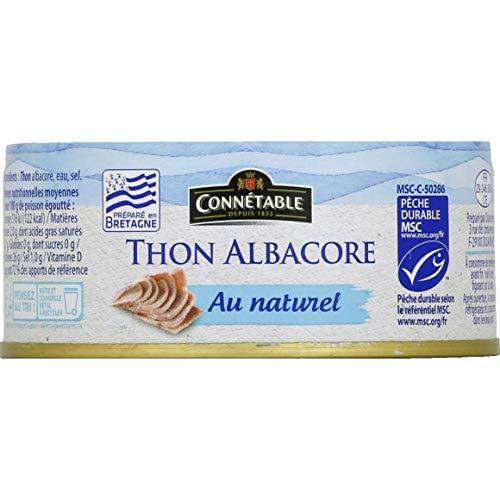 Connétable - Thon Albacore Msc Entier Au Naturel...