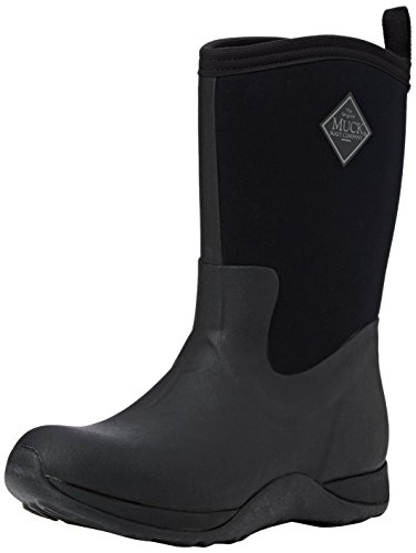Muck Boots Damen Arctic Weekend Arbeits-Gummistiefel, Black (Black 000), 43 EU