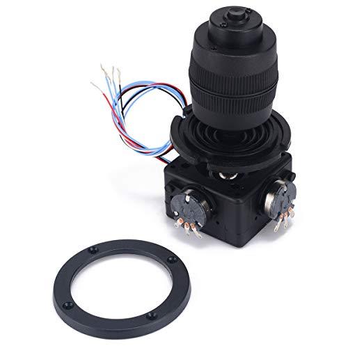 ACAMPTAR Elektronischer 4 Achsen Joystick Potentiometer Knopf für JH-D400B-M4 10K 4D Controller mit Kabel für die Industrie