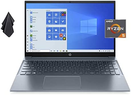 2021 Newest HP Pavilion 15 6 FHD IPS Non Touch Laptop AMD 6 Core Ryzen 5 4500U Up to 4 0 GHz product image