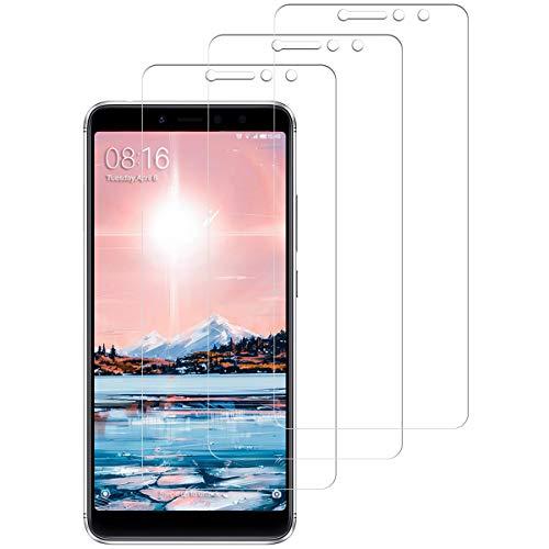 SNUNGPHIR 3 Unidades Protector de Pantalla para Xiaomi Redmi S2, Cristal Vidrio Templado Xiaomi Redmi S2, [Dureza 9H] [Anti-Arañazos] Anti-Huella Funda Compatible [Sin Cobertura Toda Pantalla]