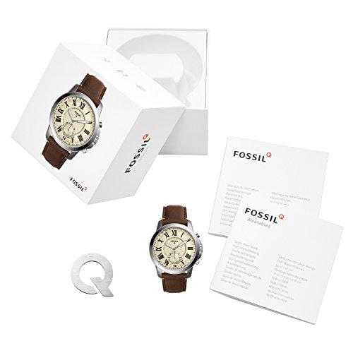 FOSSIL Q Grant | Smartwatch hybride homme sport - Compatibilité iOS et Android - Boîte et pile...