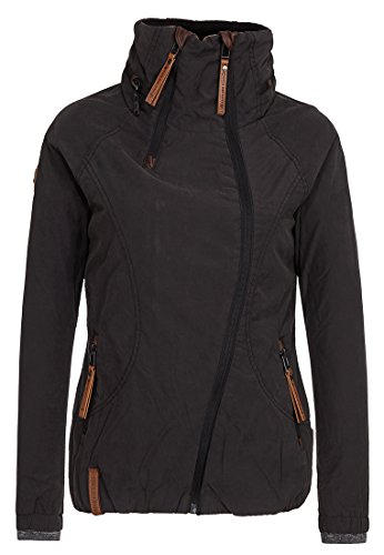 Naketano Damen Jacke Forrester Jacket, black, XS