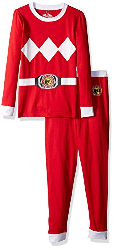 Intimo Boys' Big Red Ranger Pajama Set, 10