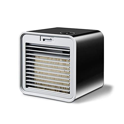 XPfj Enfriador de aire para el hogar y la oficina refrigeradores evaporativos mini aire acondicionado, ventilador portátil USB mesa mini ventilador para oficina dispositivo de refrigeración