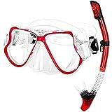 AWJ Traje de Snorkel para Adultos, Sistema de respiración por...