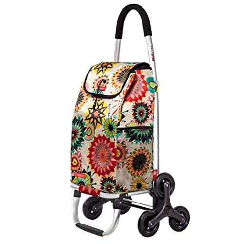 HYY-YY Shopper Maleta Carro de mano carro coche plegable comprar comida Carro...