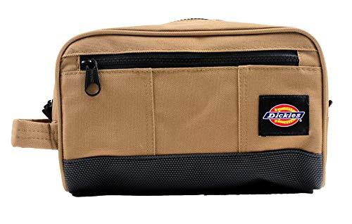 Dickies Unisex Workman Travel DOPP Kit Bag Brown Duck