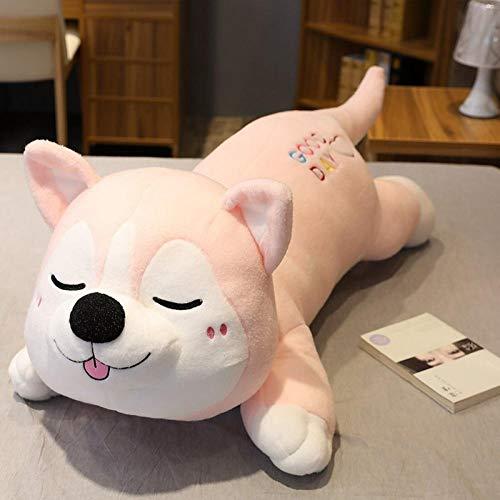 CPFYZH 80Cm Lindo Husky Dog Plush Toy Peluche Animal de Dibujos Animados...