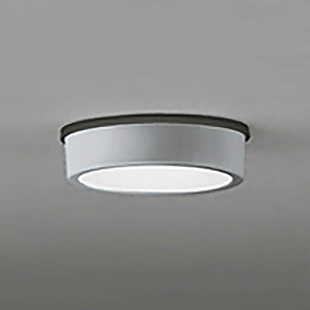 推進力貞単語ODELIC(オーデリック) アウトドア?エクステリア LED薄型軒下シーリング FLAT PLATE(フラットプレート) 【白熱灯60W相当】 電球色:.