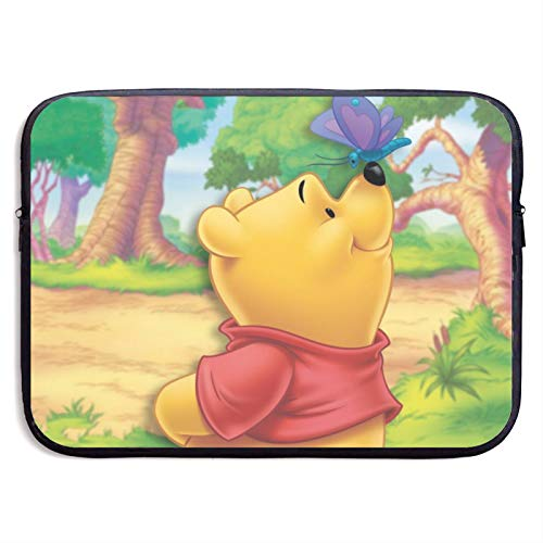 Anime Winnie The Pooh Laptop Sleeve Bag 15 inch Computer Case Tablet Briefcase Ultra Portable Protective