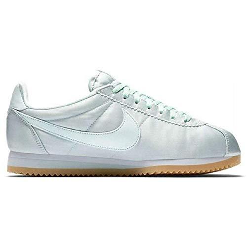 Nike WMNS Classic Cortez Satin QS - Zapatillas deportivas para mujer, Morado (morado), 44 EU